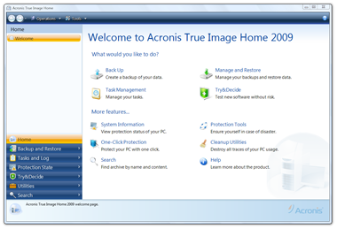 Acronis TrueImage Monitor