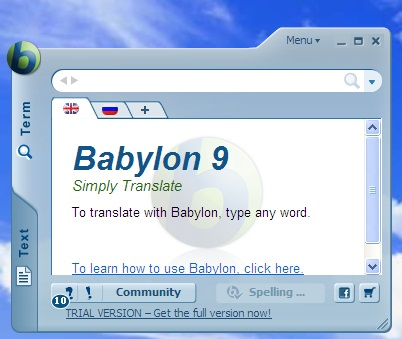 Babylon Translator