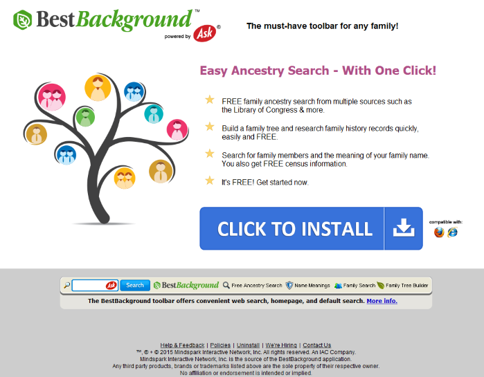 BestBackground Toolbar