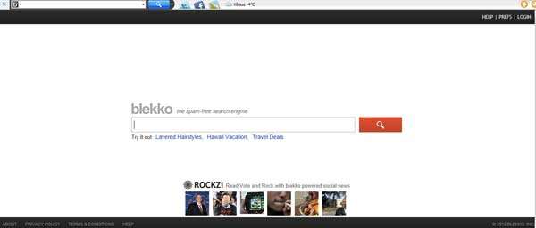 Blekko Toolbar