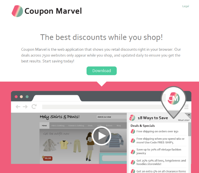 Coupon Marvel