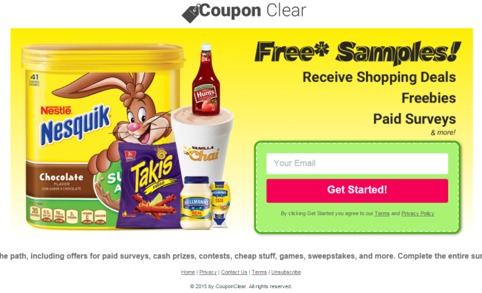 Coupon Clear