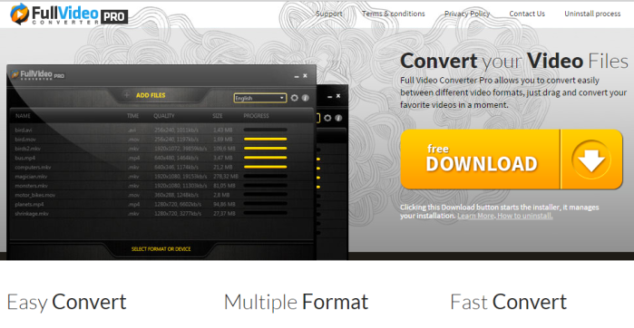 Full Video Converter Pro