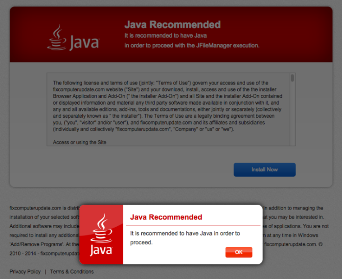 Java Recommended