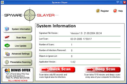 Spyware Slayer