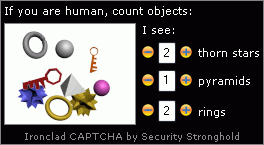 Ironclad CAPTCHA screenshot 3