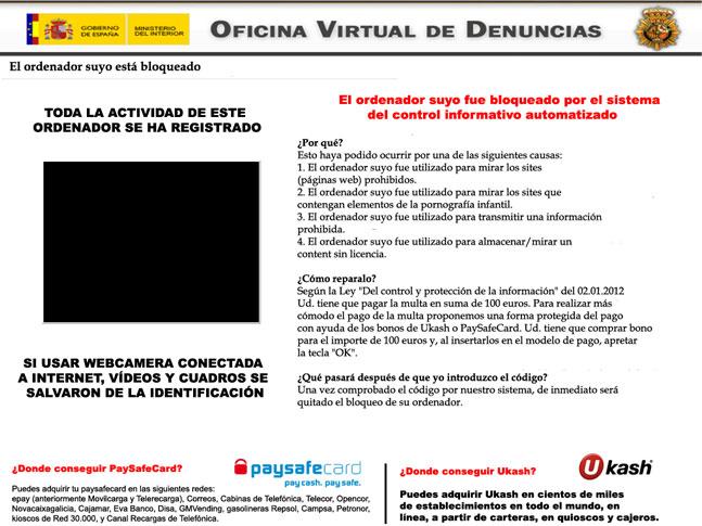 oficina virtual de denuncias virus entfernung entfernen