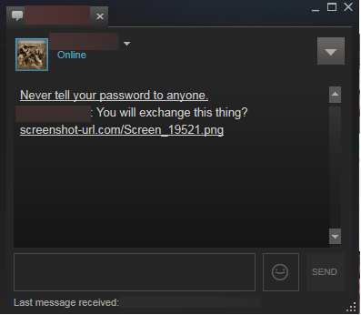 how to delete steam messages